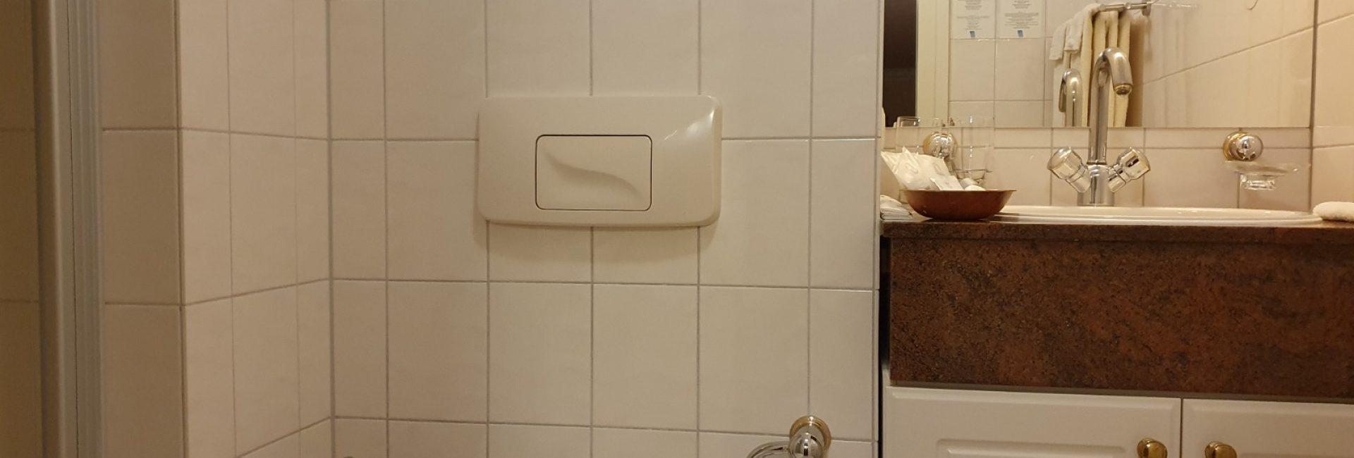 Bruidsuitte badkamer